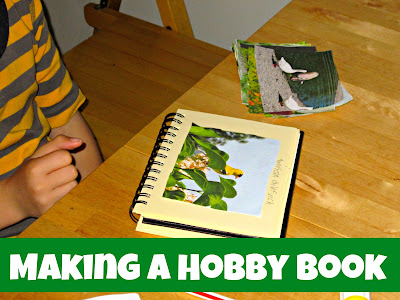 Making a Hobby Book