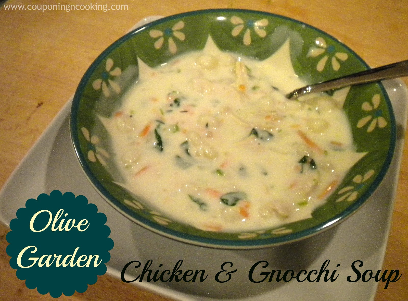 Couponing Cooking Olive Garden 39 S Chicken Gnocchi Soup