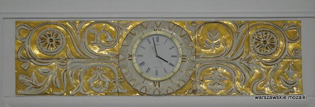 zegar Warszawa Warsaw Wiejska Sejm Rzeczypospolitej Polskiej Pniewski