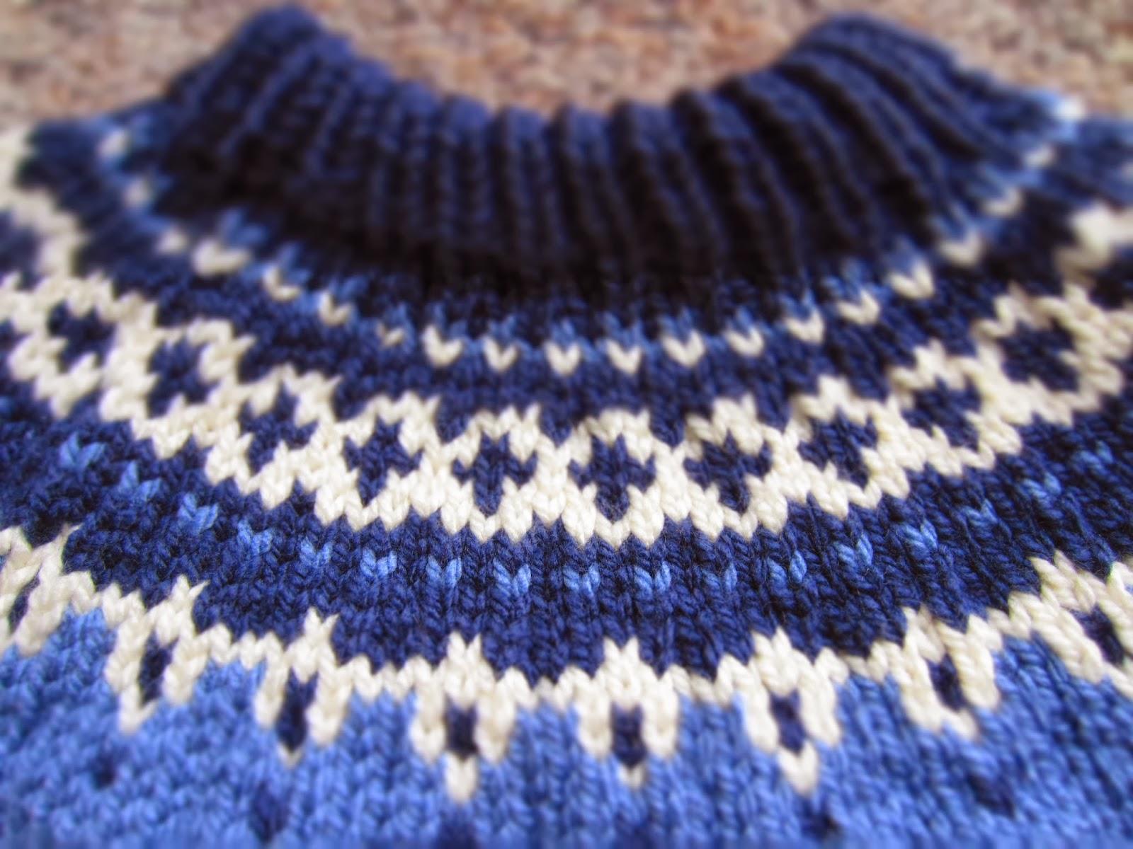 Nordic Sweater Knitting Pattern Sweater Tunic