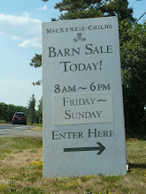 The Barn Sale awaits....we found it :)