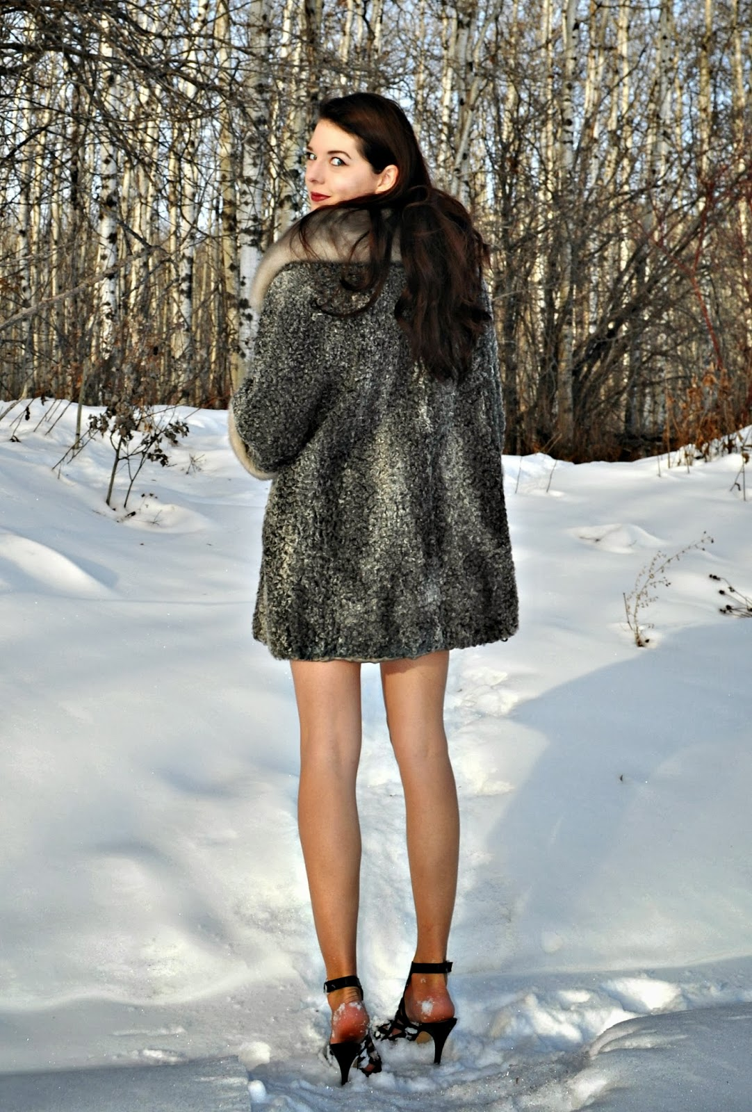 Stylsih Fur Coat