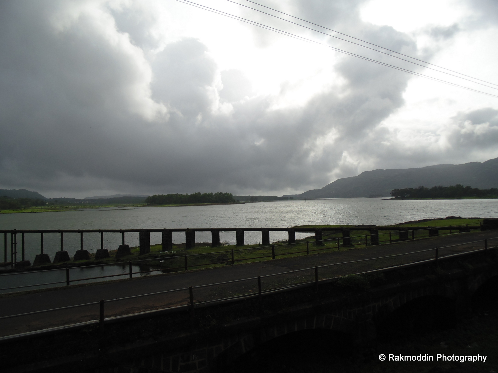 Beautiful Lonavala Lake, near Pune, Maharashtra, India