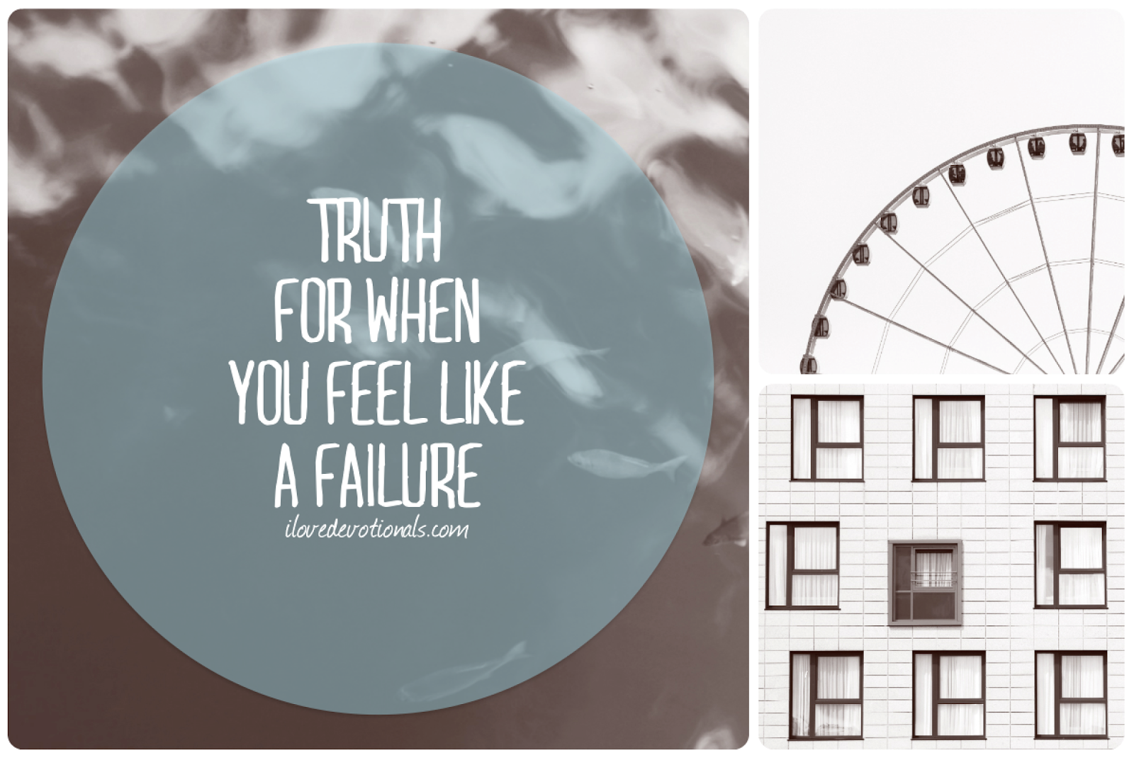 what to do if you feel like a failure