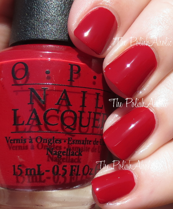 Red And Flattering On My Skin Tone Since Its Blue Toned The Formula Was Nice It Easy To Ly Had Opacity I Used 2 Coats For Photos