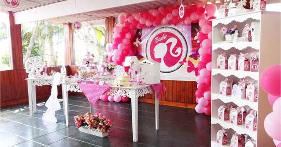 Elementos para decorar una fiesta tem tica para nenas con for El mundo decoracion