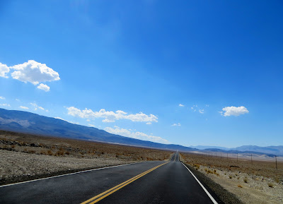 Verso la Death Valley