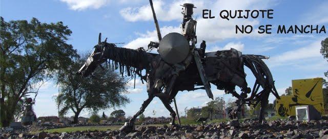 """""""El Quijote no se mancha"""""""