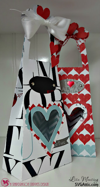 SVG Attic JGW Sweetest Heart Heart Window Tall Tote