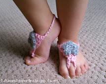 Baby Barefoot Sandals Crochet Pattern