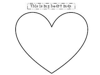 for the love of first grade beginning writer's workshop Heart Map For Writers Workshop beginning writer's workshop \