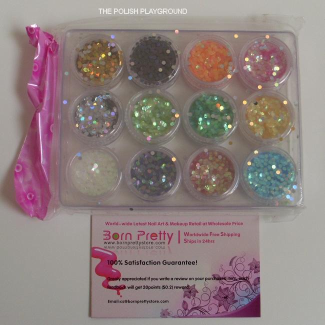 Born Pretty Store Round Circle Glitters