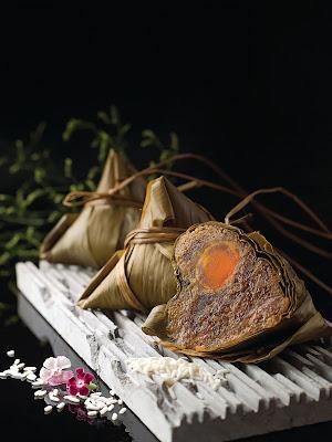 传统咸肉粽
