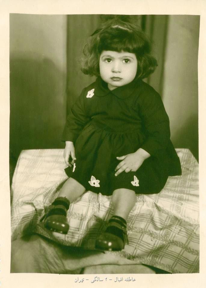 نذر مادر و عکس دو سالگی من