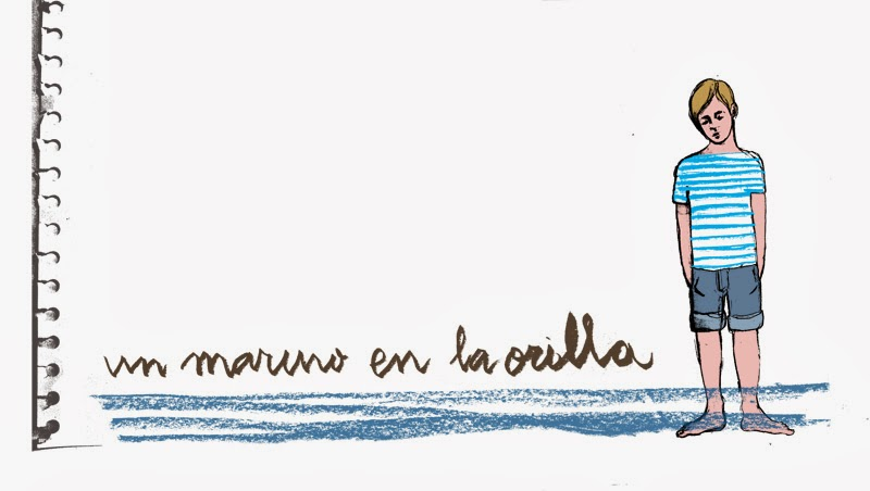 un marino en la orilla