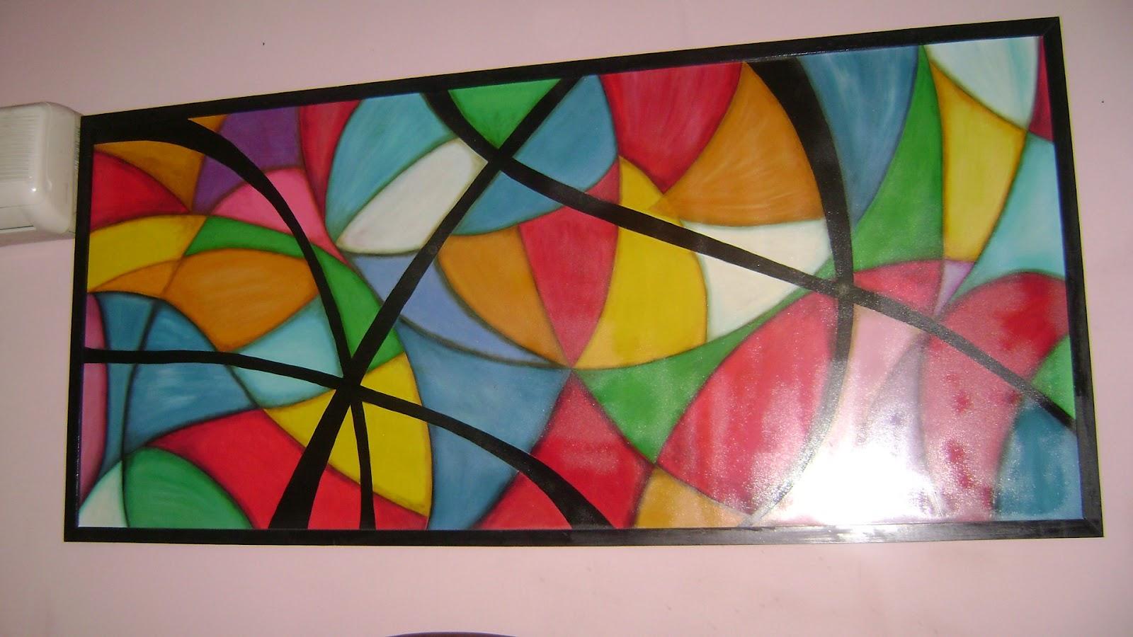 Cuadros artesanias cuadros pintados con oleo - Cuadros pintados con spray ...