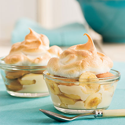Light Banana Pudding recipe from Cooking Light