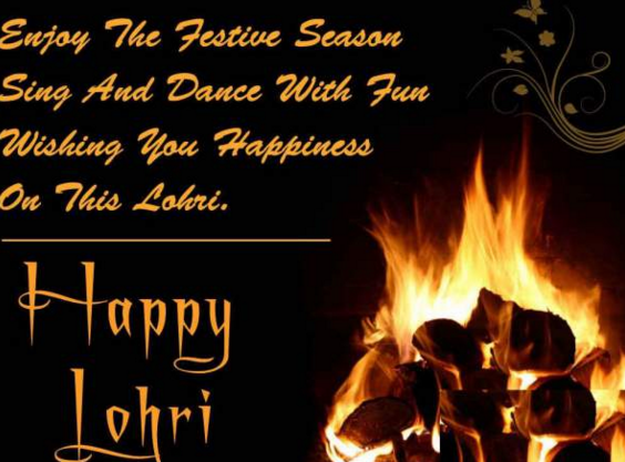 Lohri Image Wallpaper SMS Quotes Shayri