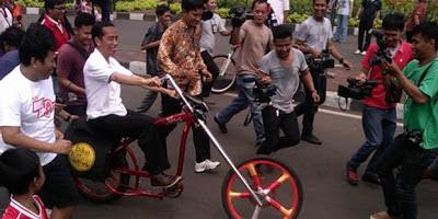 Ini Dia Car Free Night Ala Jokowi