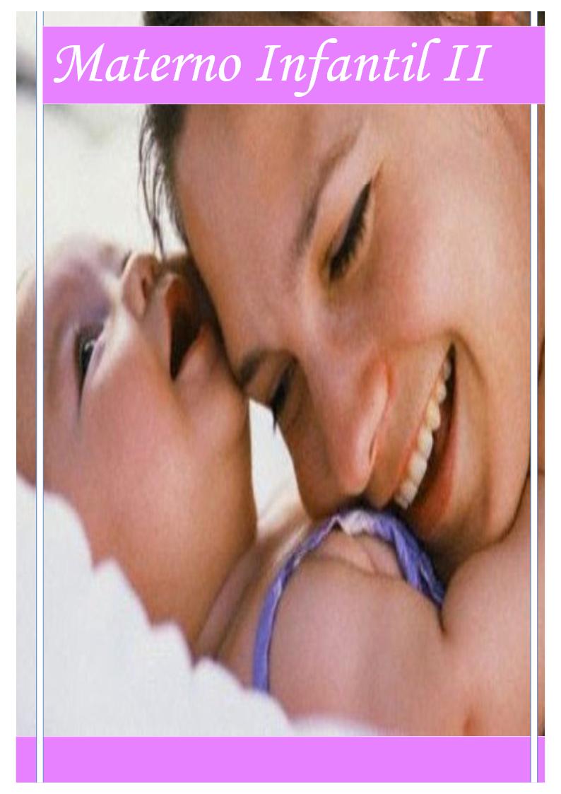 APOSTILA ENFERMAGEM MATERNO-INFANTIL II