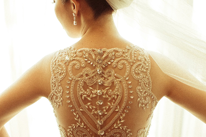 Lace back wedding dresses part 4 belle the magazine for Tattoo lace back wedding dress