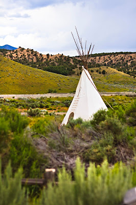 Fremont Indian State Park, Utah teepee
