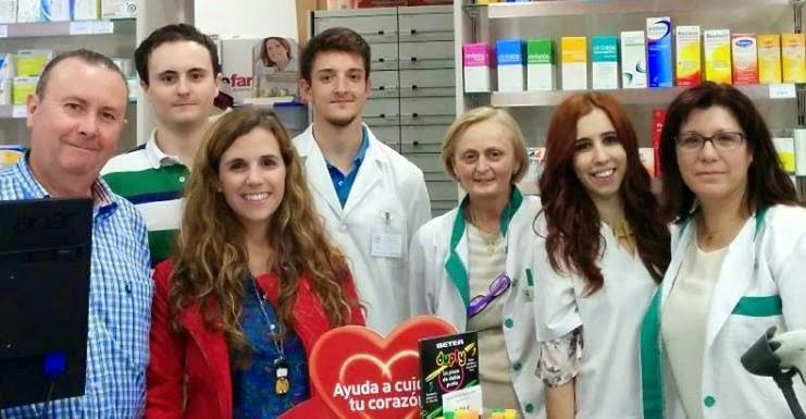 Equipo de la Farmacia San Gregorio