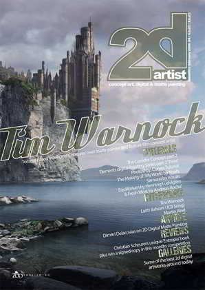 2DArtist Magazine Issue 002 February 2006