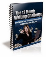 The 12 Month Writing Challenge