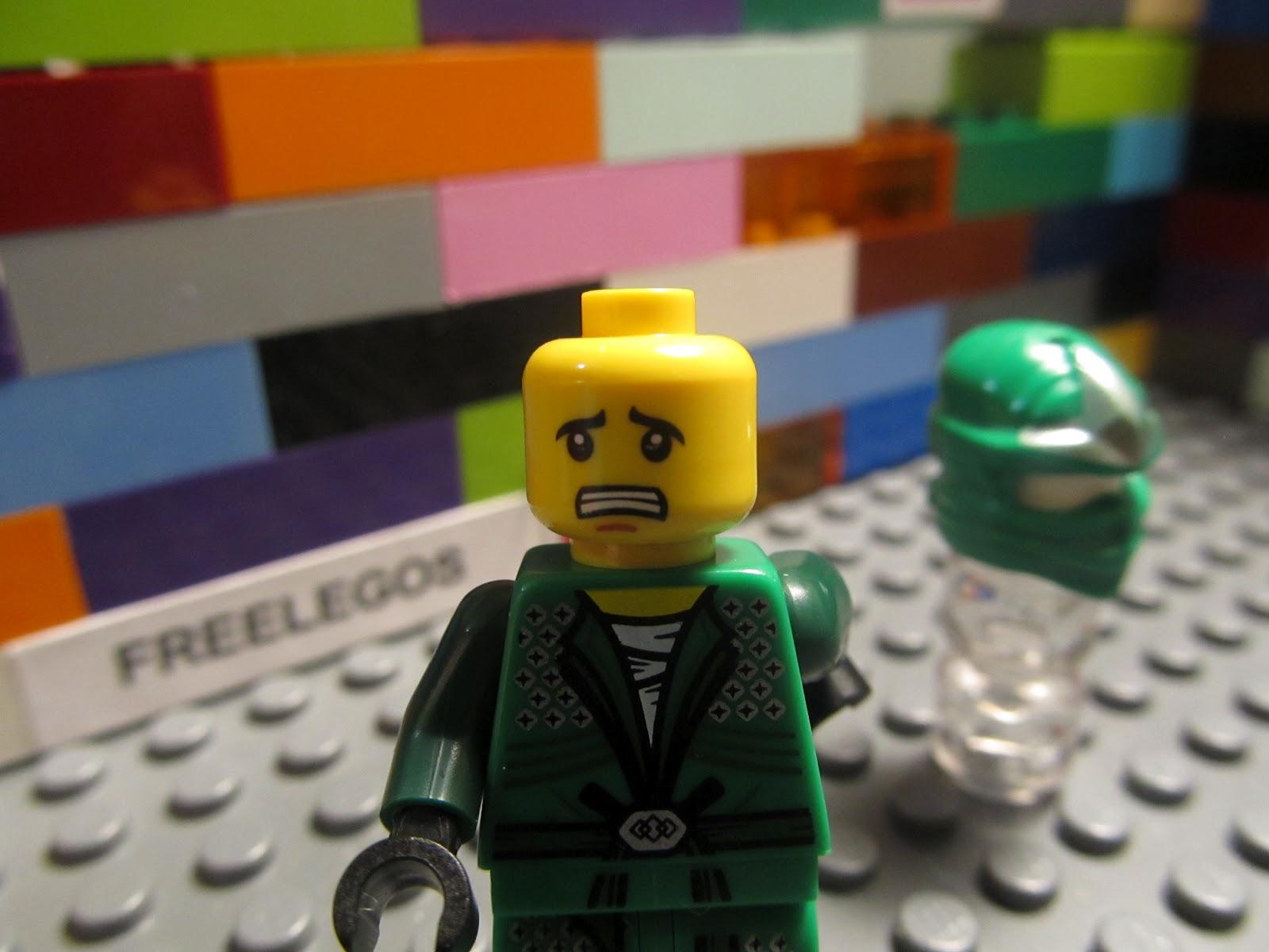 Lego ninjago lloyd zx green ninja garmadon minifigure ebay - Ninjago lego lloyd ...