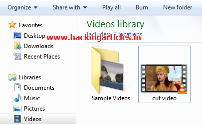 how to cut video on vlc