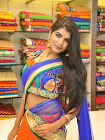 Model Isha Glamorous Half saree photos-cover-photo
