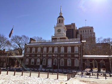 Chuck and Lori's Travel Blog - Independence Hall