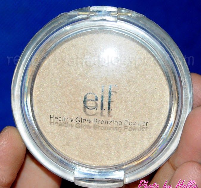 Elf healthy glow bronzing powder