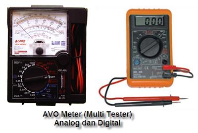 AVO Berkenalan dan Cara Menggunakan AVO Meter / Multimeter / Multitester