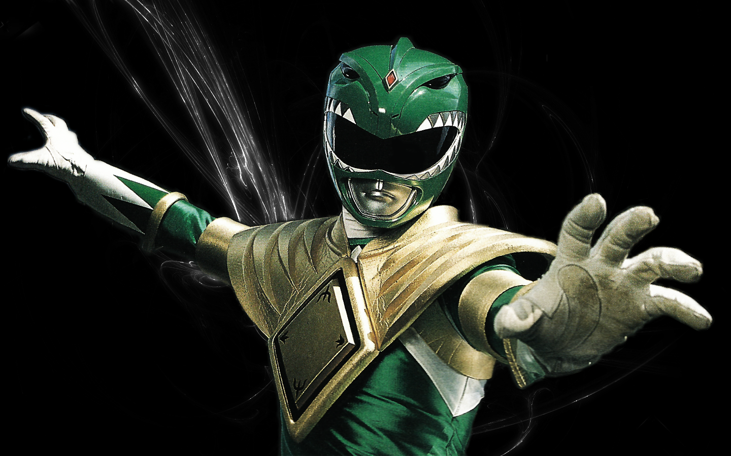 The Green Ranger's Power Shield