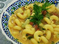 Sopa de Chuchu com Feijão (vegana)