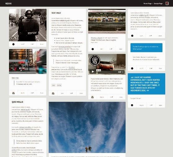 Redox WordPress Theme for Magazine