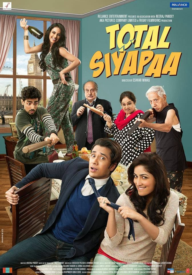 Watch Total Siyapaa (2014) DVDScr Hindi Full Movie Watch Online For Free Download