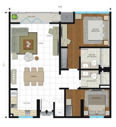 Floor plan feng shui october 2015 for Feng shui floor plan