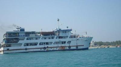 Passenger ship, st. martin