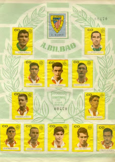 Plantilla del Athletic Club Temporada 1964-65