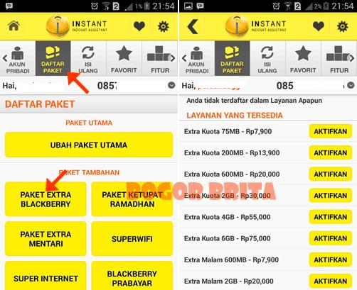 Cara Membeli Lewat Android Dengan Aplikasi Indosat Assistant