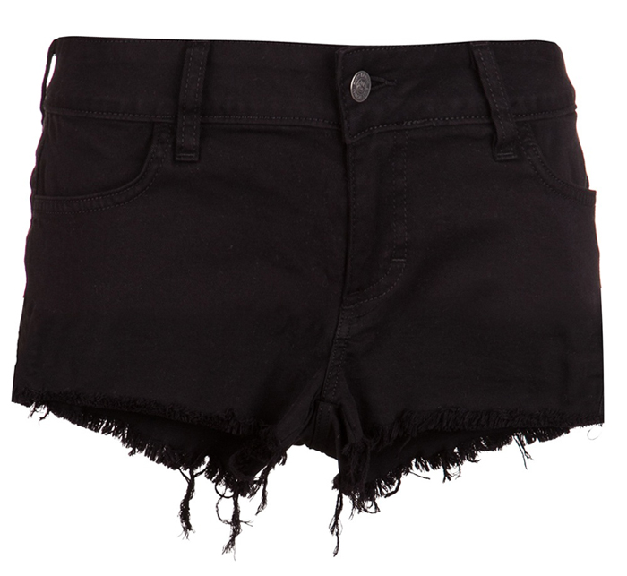 Siwy Black Cutoffs