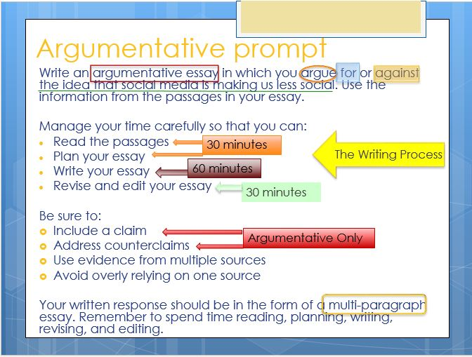 argumentative essay prompts
