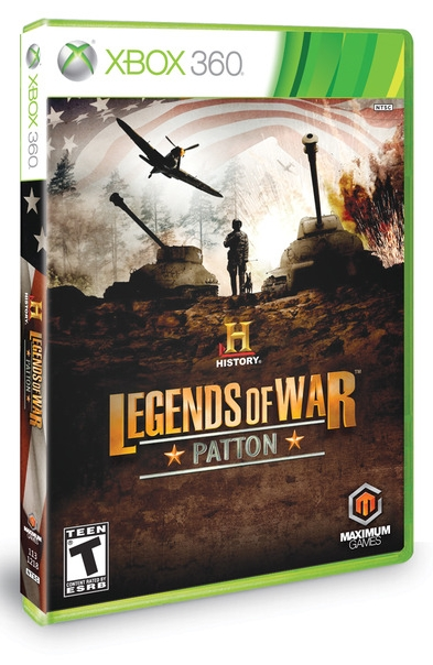 History Legends Of War Patton Xbox 360 NTSC Espaol 2012 