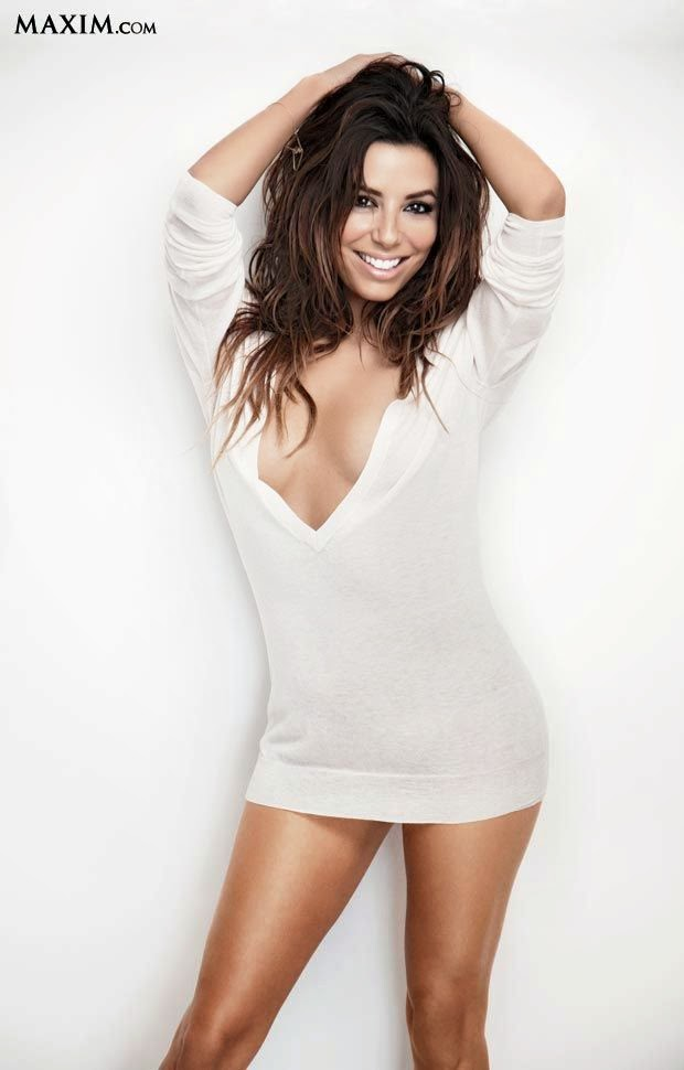 Then so, Eva Longoria showcases her perfect style on number 13.