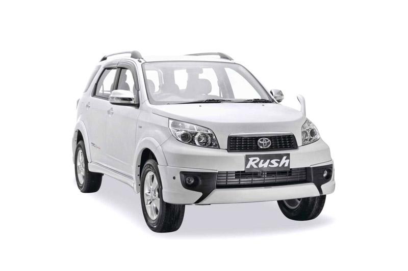 Ini Wajah Baru Daihatsu Terios dan New Toyota Rush 2014