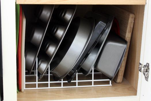 The Kitchen Cabinet Tour!!