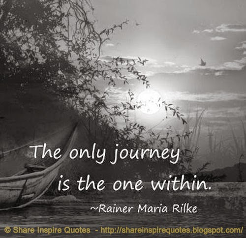 the only journey is the one within rainer maria rilke